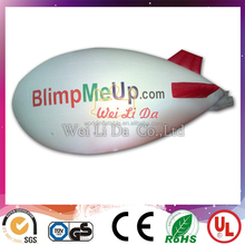 New 5m Inflatable PVC Blimp / Airship / Airplane / Helium Balloon / Advertising inflatables