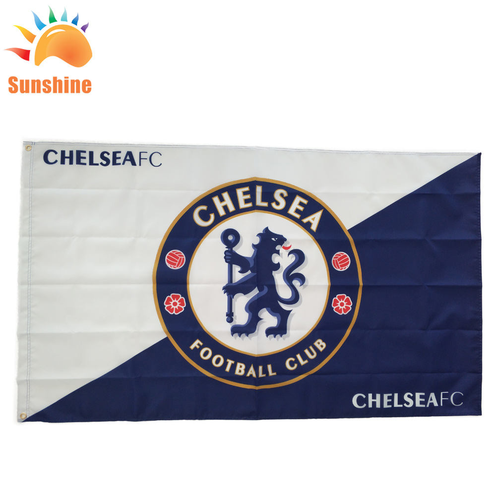 polyester flags football games custom flags outdoor advertising