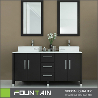 2014 New Design Bathroom Furniture Hangzhou Zhejiang Factory Supplied Bathroom Cabinet Made in China Bathroom Vanity