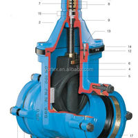 Hawle Gate Valve For HDPE Pipe
