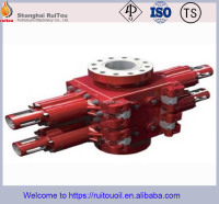 "API 16A 13-5/8""5000psi Hydraulic Double ram BOP ,Casting blowout preventer for wellhead equipment"