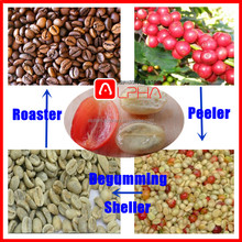 Commercial Fresh Coffee Bean Peeling roasting Coffee Pulp Removing Machine