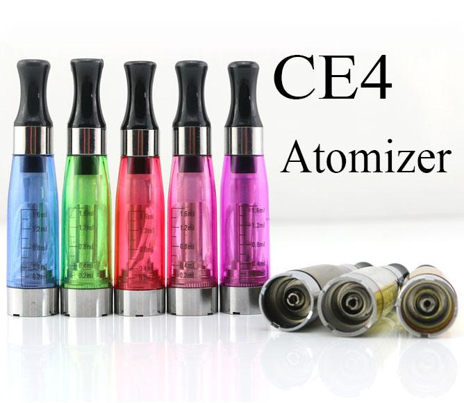 India Best Sale Large Capacity Replacable Coil Head Ego Clearomizer CE4 Atomizer