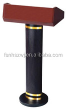 Hotel Solid Wood Podium/Wooden Lectern Rostrum Design Good Quality