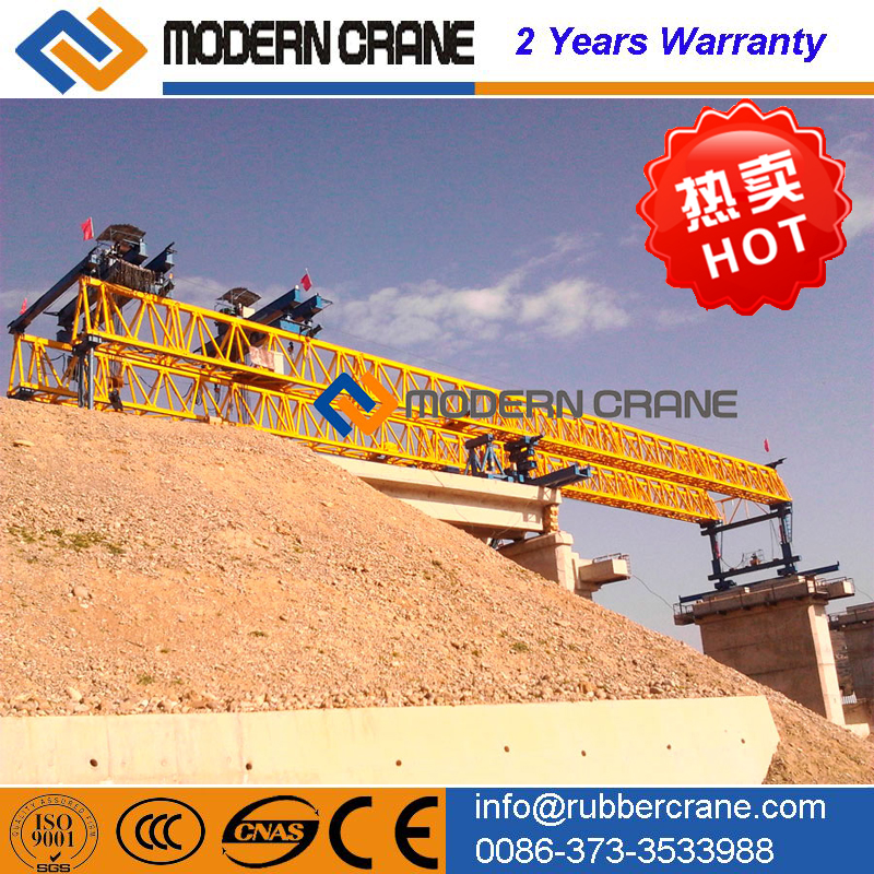 Steel launch and Duty Bridge Girder Launching Crane, Bridge Girder Launching Gantry Crane Machinery