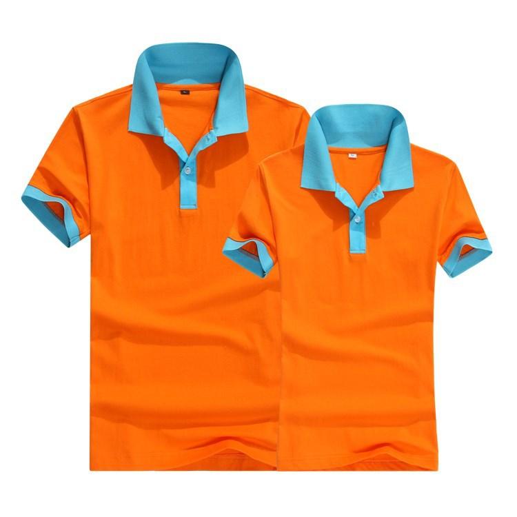 Plain cotton two color polo t shirt wholesale fashion for Two color shirt design