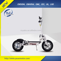 36V 500W/800W/1000W electric scooter mini folding scooter portable scooter with 36V Lead-acid battery