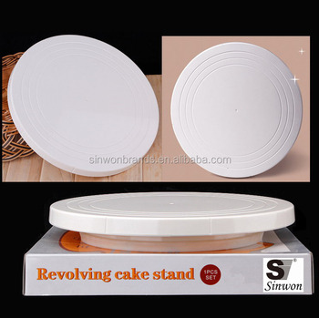 cake stand cake turntable