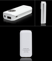 Export fish mouth generation mobile power 5600mAh mobile phone charging treasure double foot capacity can be customized