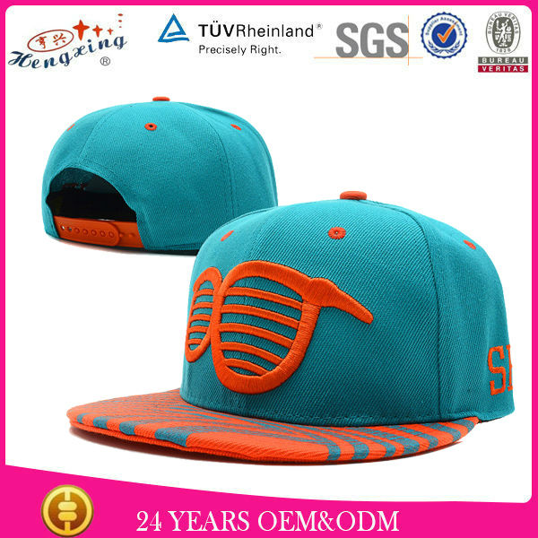 2014 New Style Design Your Own Flat Brim Custom Snapback Caps