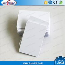 RFID PVC Card Printing Plastic White Smart PVC Blank ID Card In Stock NFC Card