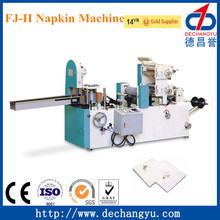 2 colors paper napkin printing and folding machine