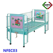 Various Cartoon Pattern Children hospital bed, kindergarten furniture