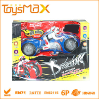 R/C Rotating Stunt Drift Motorcycle
