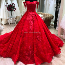 2018 suzhou custom wedding dress garment long trail