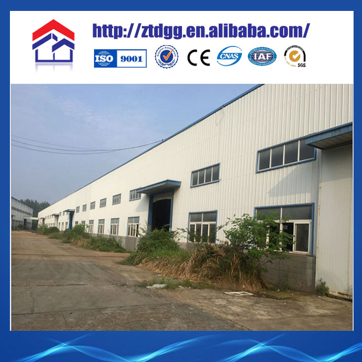 Light steel structure climate control poultry house