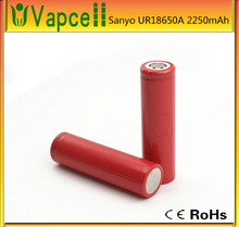 li-ion battery UR18650A SANYO 2250MAH 18650 battery cell