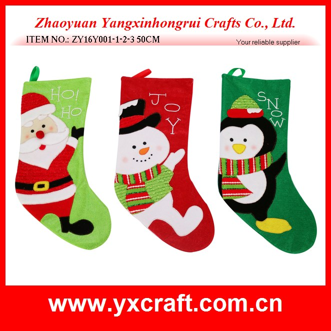 2016 fashion hotsale cheap wholesale supplier felt hanger stockings gifts , mini Christmas decoration stockings