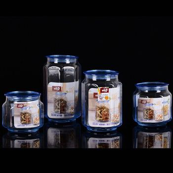 High quality Best selling glass decoration glass ornament candy jar screw bottle 50ml 80ml 160ml 300ml