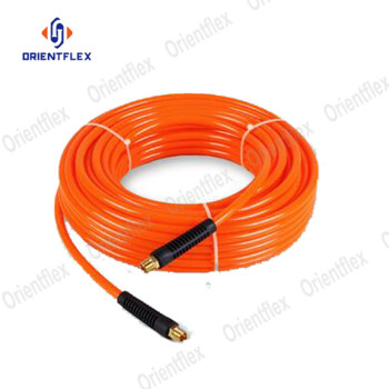China pneumatic polyurethane pu braided hose a air