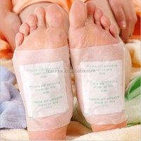 Hot selling detox foot patch health broadcast bamboo wood vinegar detox foot patch