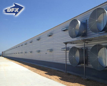 prefabricated light steel brolier breeding houses
