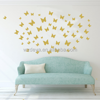 Wholesale Butterfly Wall Stickers DIY Art Decor Crafts For Nursery Room Classroom Offices Kids Bedroom Bathroom Livin