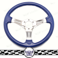 Neo Chrome Racing Drift Go Kart Steering Wheel, Wood Steering Wheel, Heated Steering Wheel