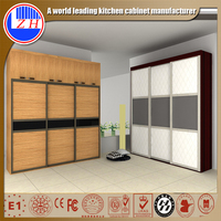 Hot sale cheap price and high quality 3 door wardrobes closet with Sliding