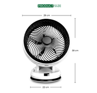 air circulation fan table type with remote control