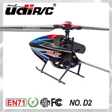 2014 New product Udirc 2.4G 4CH Single-blade RC Helicopter D2