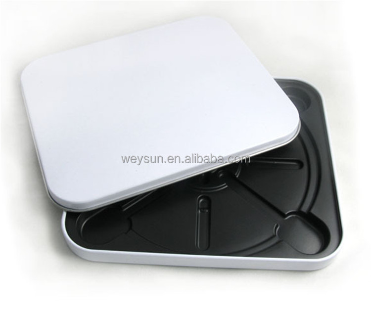 square white plain cd box dvd storage box