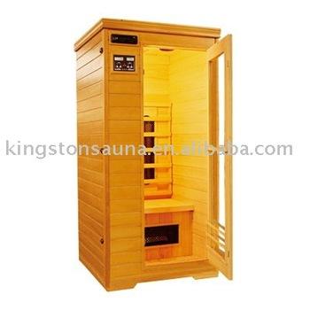 1 person mini portable infrared sauna fis 01 with ceramic. Black Bedroom Furniture Sets. Home Design Ideas