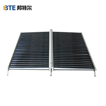solar heating system with u pipe collector