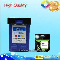 cheap compatible hp printer ink 21XL 22XL ink cartridge for hp deskjet
