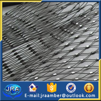 stainless steel cable mesh zoo netting animal enclosure