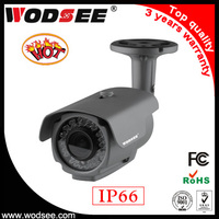 Waterproof IP66 adjustable focus ip66 cctv case for bullet camera