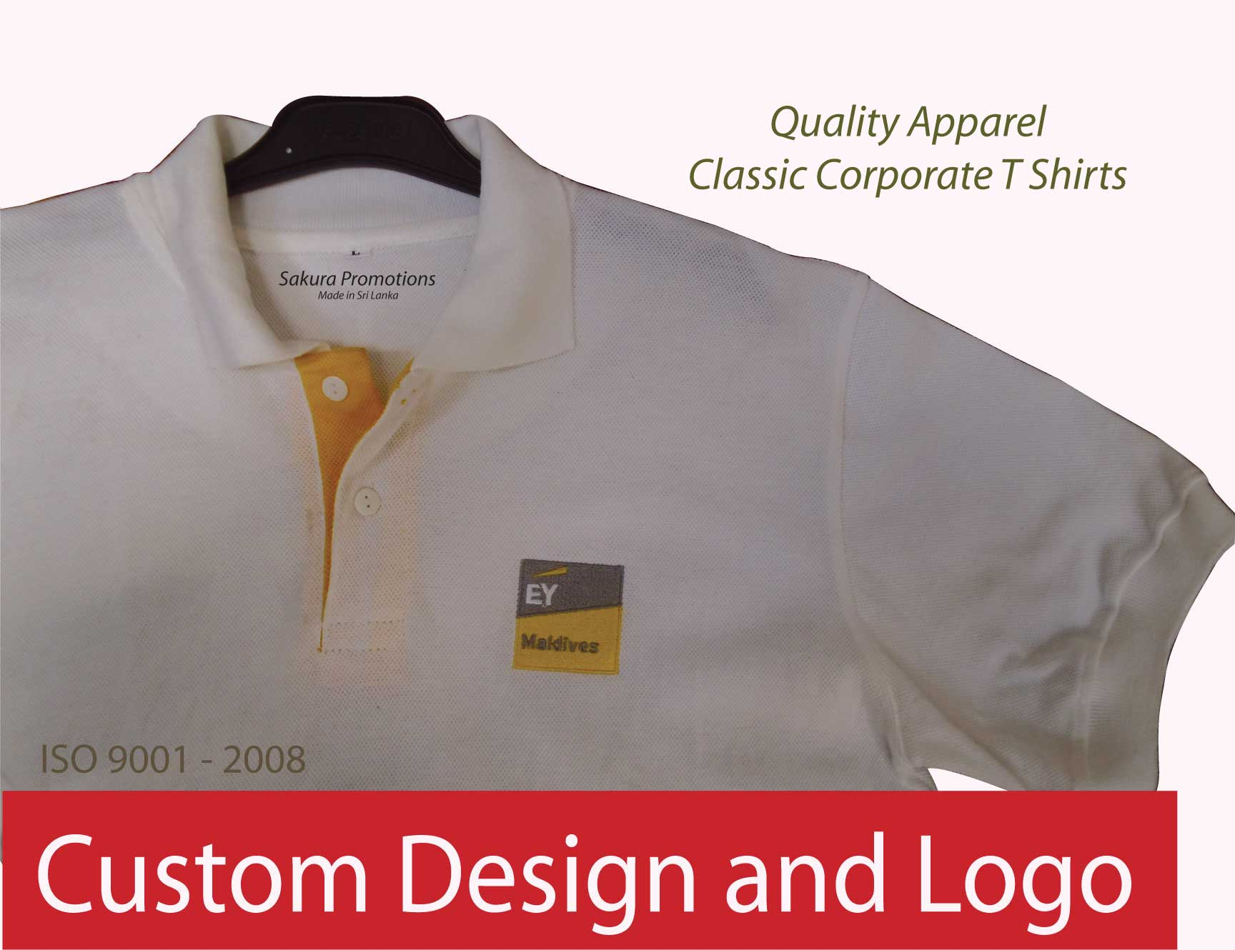 Promotional Clothing with Logo Apparel ( ISO 9001 - 2008 Fabric )