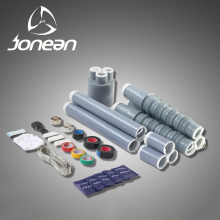 Silicone Rubber 35kv three-core indoor cold shrink tube, cold shrinkable cable termination kits and joints