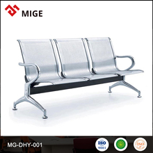 Low Price High Quality colorful braided airport bench chair manufacturer