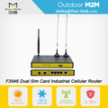 industrial 3g 4g modem din rail monted lte router