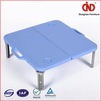 Durable Eco-Friendly Blow Mold Plastic Foldable Round Table