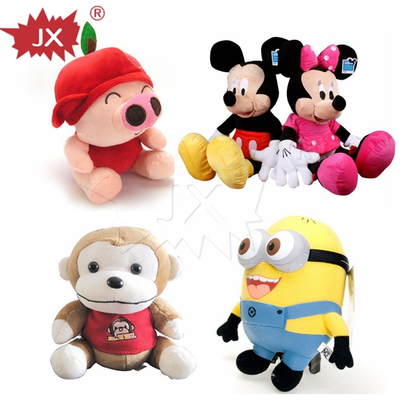Customized musical plush toys stuffed animals with sound