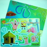 2015 New arrival eva puzzle mat/magnetic puzzle/magnetic toys puzzles