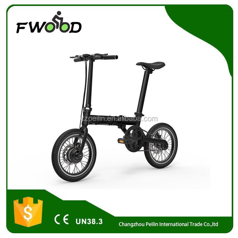 16 Inch 36v250w high quality portable mini adult lithium battery folding electric bike