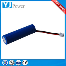 factory 3.7V 1800mAh 18650 li-ion battery AA Li-ion Lithium Rechargeable Battery for led flashlight torch