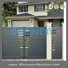 New Design Luxurious aluminum art gate for villas