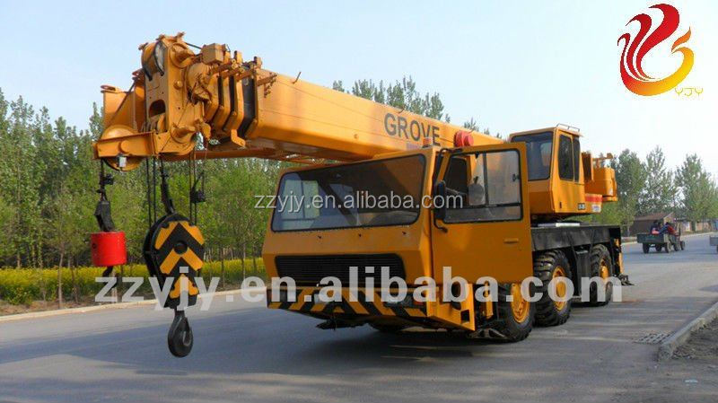 300 ton used grove mobile truck cranes