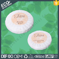 Eco Friendly High End pleat wrapping soap is hotel soap