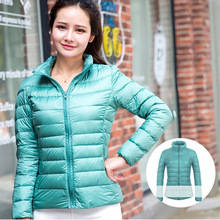 Women woodland winter varsity bomber wholesale down jacket